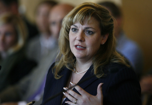 Scott Sommerdorf   |  Tribune file photo Rep. Jennifer Seelig, D-Salt Lake City, announced today she will not seek re-election. The eight-year veteran wants to complete a Ph.D.