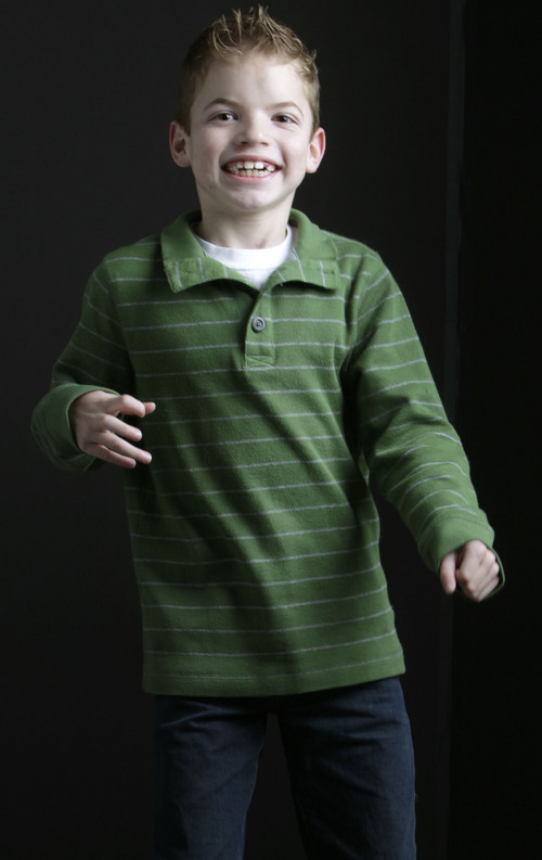 Leah Hogsten     The Salt Lake Tribune Cutler Henrie, 7, is the oldest of three siblings. Cutler suffers one to three seizures a day, lasting up to 15 minutes each from cortical dysplasia.