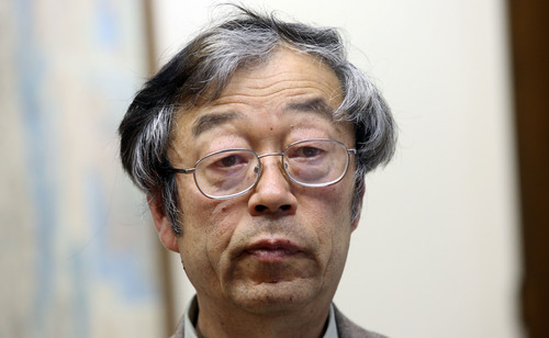 Dorian S. Nakamoto listens during an interview with the Associated Press, Thursday, March 6, 2014 in Los Angeles. Nakamoto, the man that Newsweek claims is the founder of Bitcoin, denies he had anything to do with it and says he had never even heard of the digital currency until his son told him he had been contacted by a reporter three weeks ago. (AP Photo/Nick Ut)