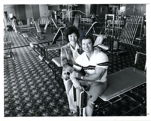 Lynn Johnson  |  Tribune File Photo Larry Scott and his wife, Rachel, seen here in Utah on April 13, 1980. Larry was a bodybuilder who won the first Mr. Olympia contest in 1965. He died March 8, 2014.
