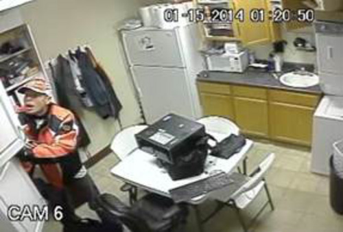 |  Courtesy Saratoga Springs Police Department The Saratoga Springs police want the public's help identifying the man suspected of burglarizing a salon at 27 W. Hillcrest Road on Jan. 15.