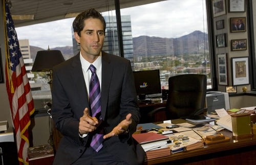 (Al Hartmann  |  Tribune  file photo) Former U.S. Attorney Brett Tolman is helping to launch a new group supporting same-sex marriage, Utah Unites for Marriage.