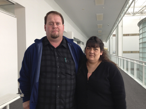 Jim Dalrymple II | The Salt Lake Tribune Ron and Jinjer Cooke have filed a civil rights lawsuit against Colorado City and Hildale, saying they were discriminated against because they aren't FLDS