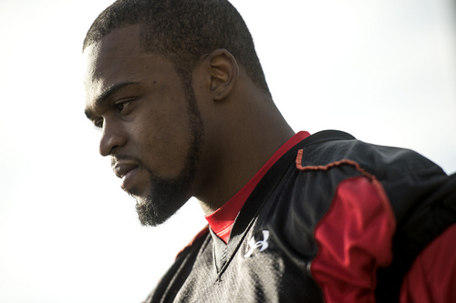 Chris Detrick  |  The Salt Lake Tribune Utah linebacker Gionni Paul after a practice at Spence and Cleone Eccles Football Center Thursday March 20, 2014.