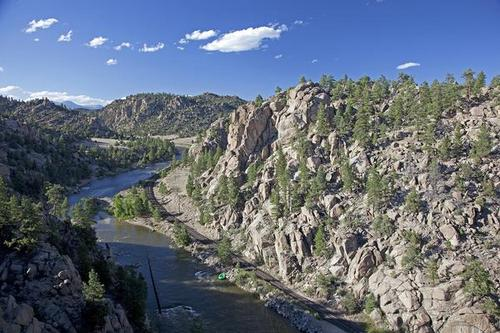 John Fielder  |  Special to the Denver Post  Browns Canyon along the Arkansas River has been managed by the BLM as a Wilderness Study Area for more than a decade. Renowned for its whitewater rafting and kayaking, the 13-mile river run between Buena Vista and Salida attracts relatively few fishermen. .