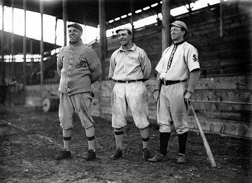 Salt Lake Red Sox players in 1912.