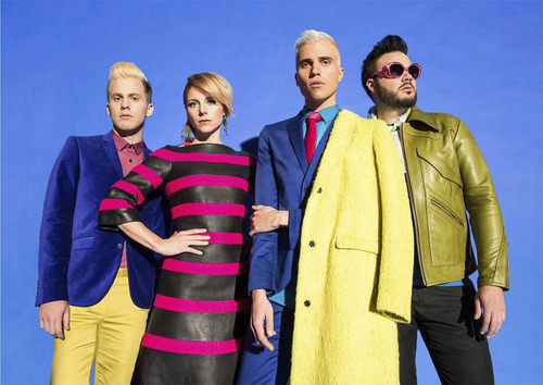 Post-punk band, Neon Trees, from Provo,  will bring its Pop Psychology Tour with guests Smallpools and Nightmare and the Cat to The Complex in Salt Lake City, June 16, 2014. Visit smithstix.com for information. Courtesy Neon Trees