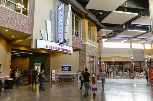 Franciso Kjolseth  |  The Salt Lake Tribune Many new improvements have been made at Valley Fair Mall including current construction of a new Bed Bath and Beyond, a Megaplex Theater and improvements to the surrounding grounds in West Valley City.