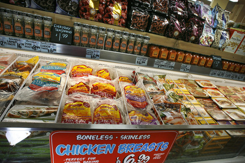 Scott Sommerdorf  |   Tribune file photo               One of the frozen food cabinets at the Trader Joe's store in Salt Lake City, Utah's first. The chain is opening a second Utah location in Cottonwood Heights in 2015.