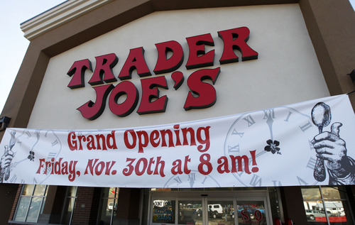 Al Hartmann  |   Tribune file photo Trader Joe's 12,700-square-foot store at 634 E. 400 South in Salt Lake opened for business in 2012. The chain is opening a second Utah location in Cottonwood Heights in 2015.