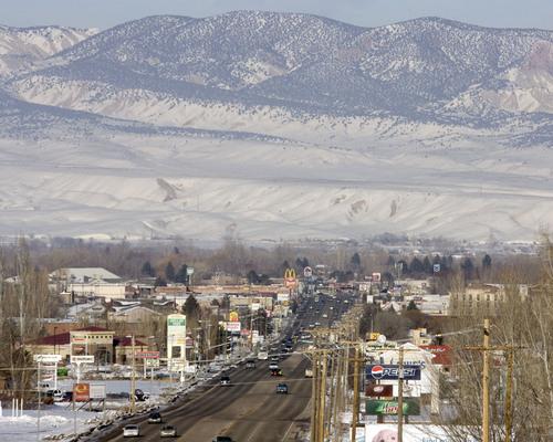 Steve Griffin  |  Tribune file photo   Downtown Vernal, Utah Thursday, February 10, 2011.