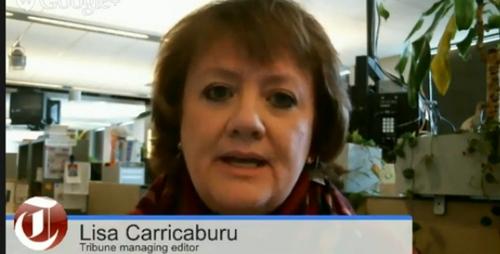 Tribune managing editor Lisa Carricaburu was a guest on Trib Talk on Friday, March 28, 2014.