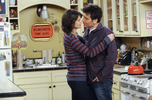 """Courtesy photo  Ted (Josh Radnor) professes his love to Robin (Cobie Smulders), on """"How I Met Your Mother."""""""