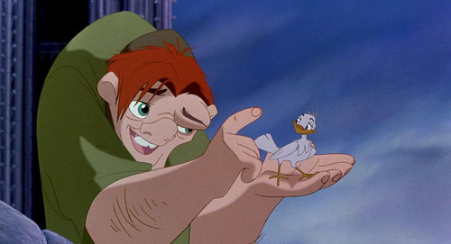 "|  courtesy Disney Quasimodo, as depicted in the 1996 Disney version of ""The Hunchback of Notre Dame.""  Historians say Victor Hugo's classic novel wrongfully depicted the ""Feast of Fools."""