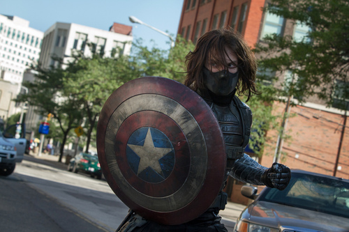 "This image released by Marvel shows Sebastian Stan in a scene from ""Captain America: The Winter Soldier."" (AP Photo/Marvel-Disney)"