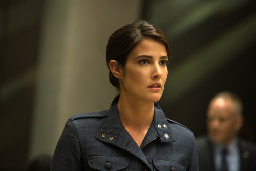 "This image released by Marvel shows Cobie Smulders in a scene from ""Captain America: The Winter Soldier."" (AP Photo/Marvel-Disney)"