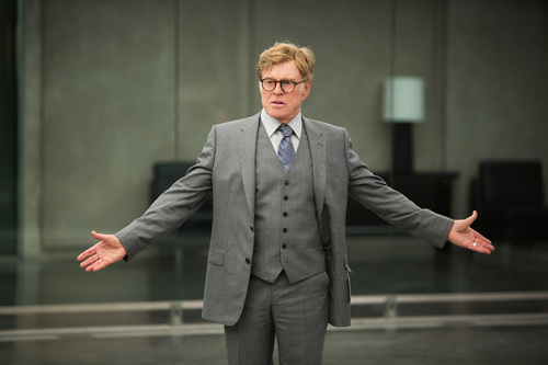"This image released by Marvel shows Robert Redford in a scene from ""Captain America: The Winter Soldier."" (AP Photo/Marvel-Disney)"
