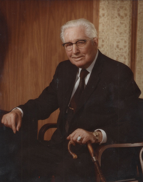 Hugh B. Brown. Courtesy     Intellectual Reserve, Inc.
