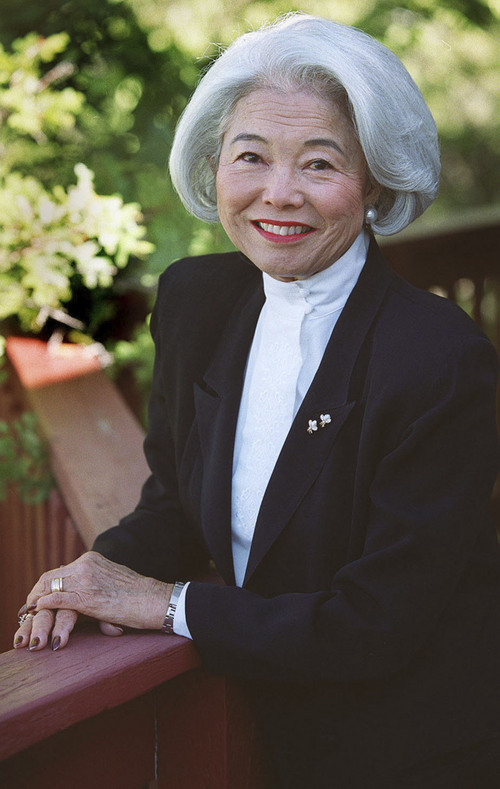 Tribune file photo  Chieko Okazaki, a member of the General Relief Society Presidency of The Church of Jesus Christ of Latter-day Saints from 1990-1997.