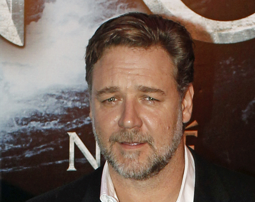 """FILE - In this April 1, 2014 file photo, New Zealand actor Russell Crowe poses for photographers at the premiere of his film """"Noah"""" in Paris. Malaysia and Indonesia have banned the biblical epic """"Noah,"""" joining other Muslim nations that forbid the Hollywood movie for its visual depiction of the prophet. Film censors in both countries said Monday, April 7, 2014, that the portrayal of the ark-building prophet by Crowe was against Islamic laws. Depictions of any prophet are shunned in Islam to avoid worship of a person rather than God. (AP Photo/Thibault Camus, File)"""