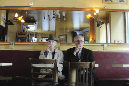 "Nicola Dove | Courtesy Music Box Films  Lindsay Duncan (left) and Jim Broadbent play a long-married couple on a trip to Paris in the comedy-drama ""Le Week-End."""