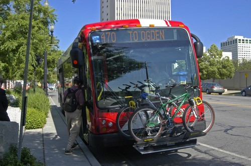 | Courtesy UTA  A House committee on Wednesday approved and sent to the House floor a proposal to allow local officials to ask voters for a sales-tax hike for transit. The increaed revenue would be targeted for expanded bus service.