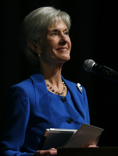 Health and Human Services Secretary Kathleen Sebelius. (AP Photo/Brennan Linsley)