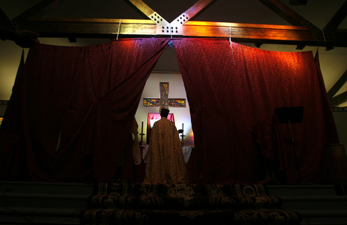Leah Hogsten  |  Tribune file photo  Ethiopian Orthodox believers in Utah transformed a Protestant church into a sanctuary where they might have worshipped in their home country, complete with their language of faith -- Amharic 4.
