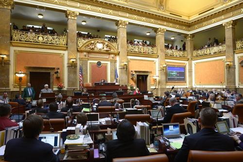 Rick Egan  |  Tribune file photo   The Utah House of Representatives at the Capitol,  Friday, February 21, 2014.
