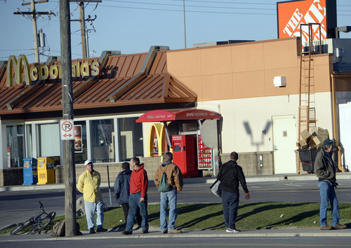 Will Work For Pay Utah Day Laborers Lining Up At Home Depot The