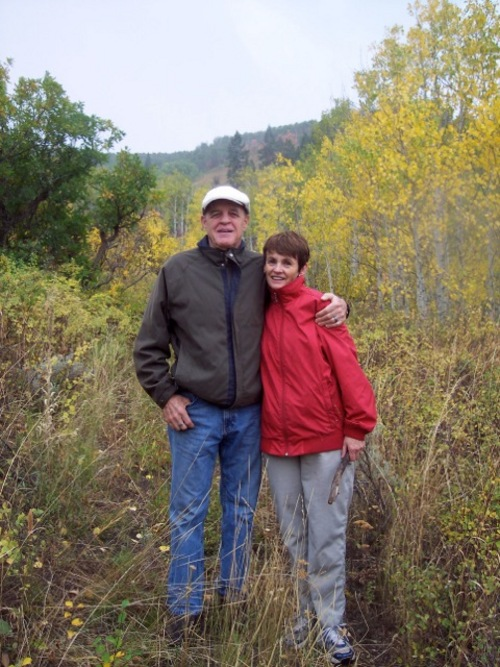 """(Courtesy photo) Leonard and Kathryn Romney have shared the story of her 2009 Alzheimer's disease diagnosis throughout Utah, hoping to fight stigma. They were interviewed for a new book, """"Framing Dementia,"""" produced by University of Utah Honors College students."""
