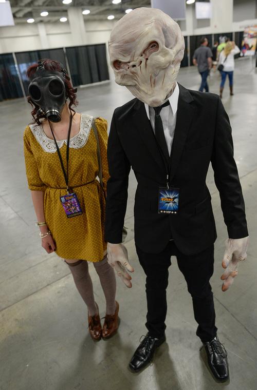 Franciso Kjolseth | The Salt Lake Tribune Dani Nelson as  the empty child  & Salt Lake Comic Con FanX: In u0027cosplayu0027 everybody can be anybody ...