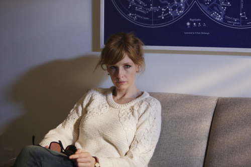 "This image released by ABC shows Kelly Reilly in a scene from the new medical drama ""Black Box,"" premiering Thursday at 10 p.m. EDT on ABC. (AP Photo/ABC, Patrick Harbron)"