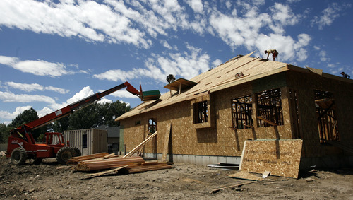 Francisco Kjolseth  |  Tribune file photo  A new study says Utah has the second-fastest growth of urban sprawl in the nation.