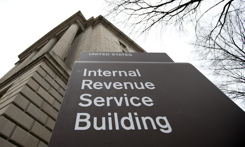 FILE - This file photo taken March 2, 2013, shows the Internal Revenue Service building at the Federal Triangle complex in Washington.  (AP Photo/Manuel Balce Ceneta, File)