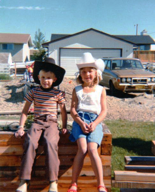 "This circa 1981 photo provided by Carol Tapanila shows her children wearing cowboy hats in Airdrie, Alberta, Canada for the Calgary Stampede event. After retiring from a job as an administrative assistant at an oil company in Calgary, Carol Tapanila, still a U.S. citizen, began putting $125 a month into a special savings account for her developmentally disabled son, left, matched by the Canadian government. But in 2012 she turned in her U.S. passport, renouncing citizenship to protect money saved for her retirement and her son. Tapanila, 70, has tried and failed to renounce U.S. citizenship on his behalf, saying officials told her such a decision must be made by the individual. ""I'm sorry that I've given my son this burden and I can do nothing about it ... I thought we had some rights to go wherever we wanted to go and some choices we could make in our lives. I thought that was democracy. Apparently, I've got it all wrong."" (AP Photo/Carol Tapanila)"