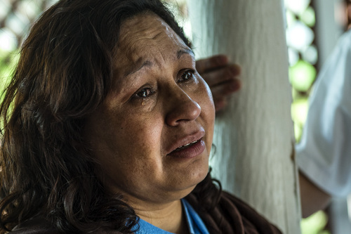 Chris Detrick  |  The Salt Lake Tribune  Ana CaÒenquez talks about the possibility of being deported at her home in Garland Wednesday April 16, 2014. Part of the family has been ordered to be deported to El Salvador.