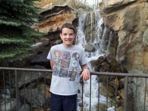 | Courtesy   Steven Smith, 14, autistic, is missing from This Is The Place State Park. If you see him, call 911.