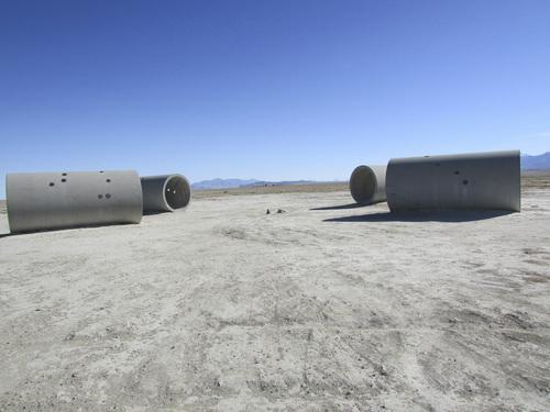 Tom Wharton | The Salt Lake Tribune  Nancy Holt's land art installation Sun Tunnels.