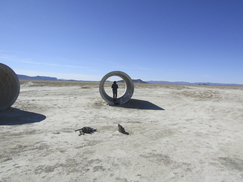 Tom Wharton | The Salt Lake Tribune  Nancy Holt's Sun Tunnels are a land art creation located in a remote corner of northwestern Utah.