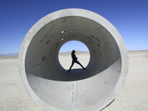 Tom Wharton | The Salt Lake Tribune  Nancy Holt's Sun Tunnels are a land art creation located in a remote corner of northwestern Utah.