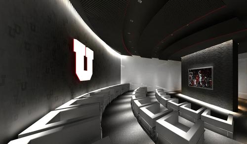 Courtesy     University of Utah Renderings of the new Jon and Karen Huntsman Basketball Center.