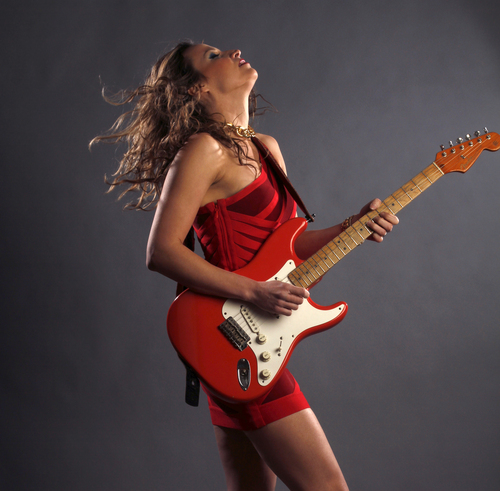 Cheryl Gorski     courtesy Utah Arts Festival Serbian blues-rock guitarist Ana Popovic is one of the headlining acts at the 2014 Utah Arts Festival, running June 26-29 at Library Square, Salt Lake City.