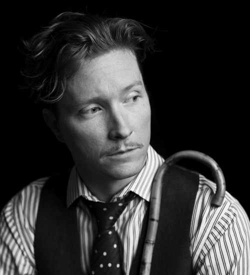    courtesy Utah Arts Festival Jazz/ragtime/blues musician Blair Crimmins and his band, The Hookers, is one of the headlining acts at the 2014 Utah Arts Festival, running June 26-29 at Library Square, Salt Lake City.
