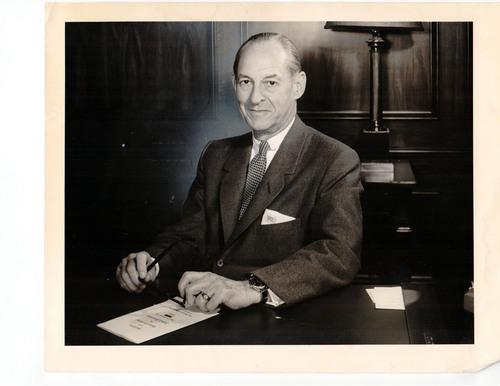 (Tribune file photo) Marriner S. Eccles, 1961.