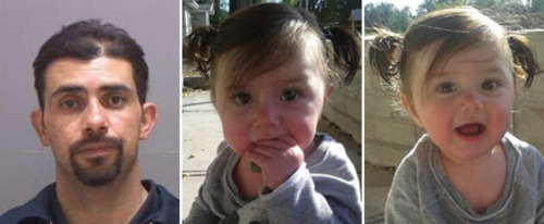 Police are looking for 15-month-old Sophea Larsen who was last seen with her homeless father, Jamie Webb.