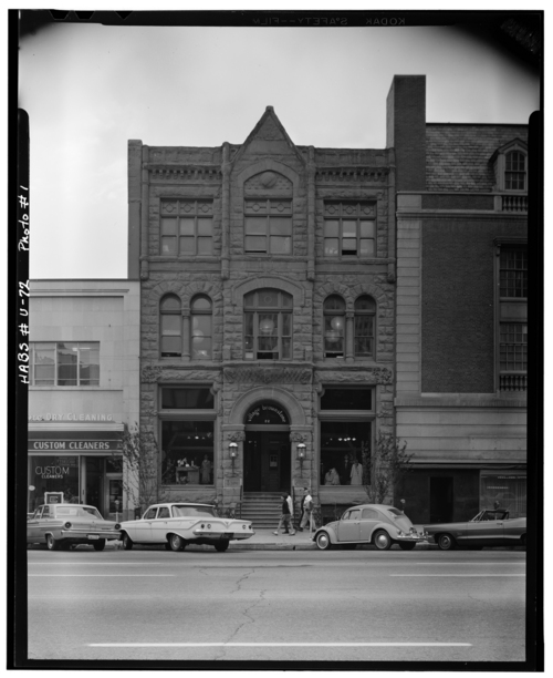 Photos courtesy Library of Congress  An undated view of Main Street in downtown Salt Lake City.