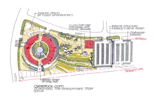 Courtesy Photo Concept Drawings For The Peace Coliseum