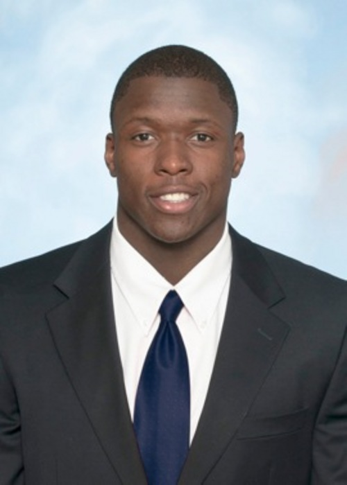 Utah State safety Maurice Alexander. Alexander was selected in the fourth round of the NFL Draft by the St. Louis Rams  Courtesy: Utah State University