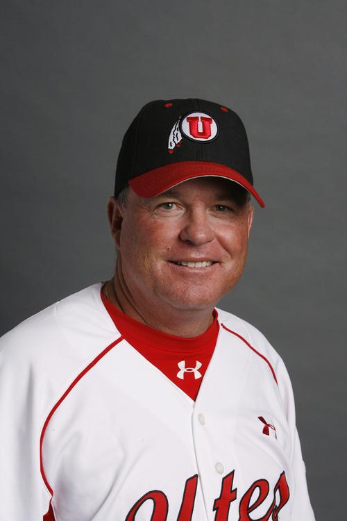 Bill Kinneberg, University of Utah Baseball November 4, 2009 in Salt Lake City.  ( Photo / Steve C. Wilson / University of Utah)